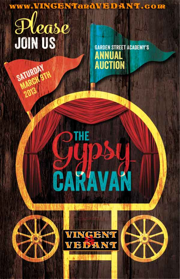 The Gypsy Caravan – Saturday March 9th – VIncent & Vedant